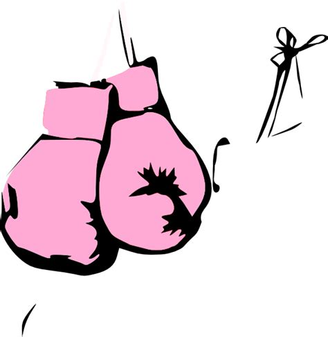 boxing gloves clipart pink boxing gloves clip at clker vector clip