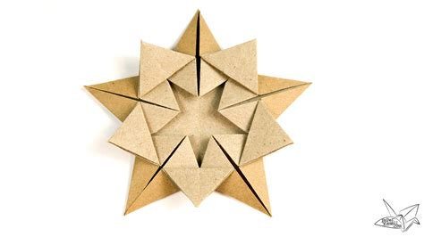 tutorial origami paper star origami star within tutorial ali bahmani paper kawaii