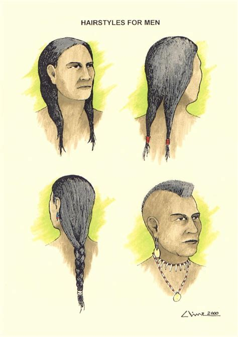 mens native hairstyle wanoag hair styles for men http www rootsweb