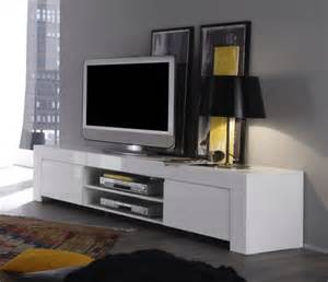 Kitchen Appliances Wolf - rimini collection large tv unit gloss white tv amp media units