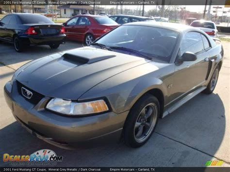 2001 mustang coupe 2001 ford mustang gt coupe mineral grey metallic