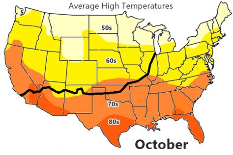 us weather map october weather on route 66