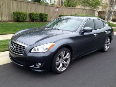 infiniti m37 technology package purchase used 2011 infiniti m37 sport 32k navigation