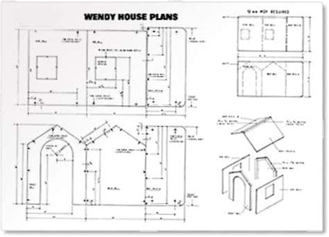 Wendy House Floor Plans | tony lush projects
