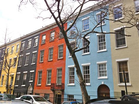 color house nyc easter egg colors on historic sullivan street ephemeral