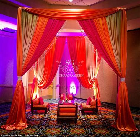 indian wedding drapes mehndi seating cushions throw pillows floor tent