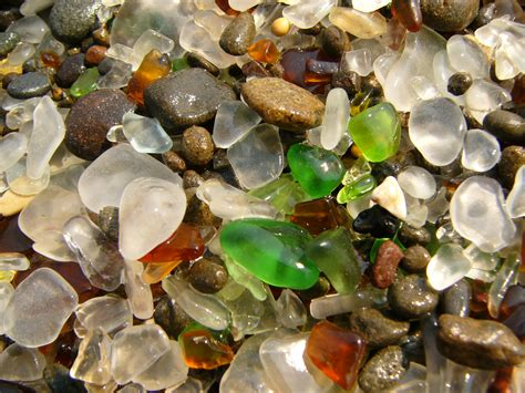glass beaches nature laughs last at glass beach 38 pics