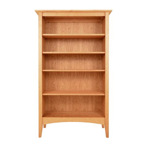 american shaker style bookcase solid cherry maple