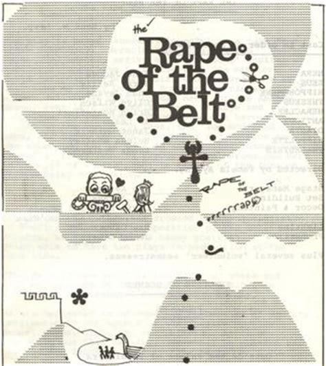 rape bench the rape of the belt written by benn w levy