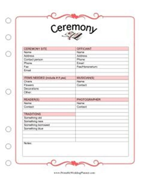 Wedding Song Checklist by The Wedding Planner Schedule Worksheet Is A Detailed