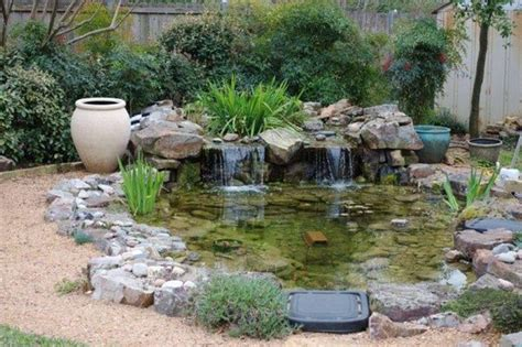 water garden  bog  top  waterfall bogs house