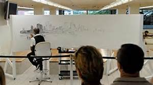 time lapse of brisbane panorama by stephen wiltshire youtube world renowned artist stephen wiltshire draws panorama of