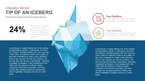 Tip Of The Iceberg Powerpoint Template And Keynote Slide Slidebazaar Iceberg Powerpoint Template