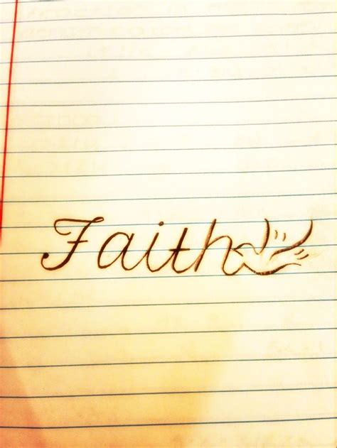 have faith tattoo always faith my future foot that i drew up