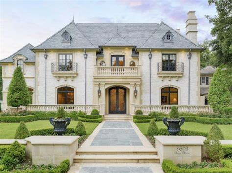 french style homes estate of the day 3 5 million french style mansion in dallas texas