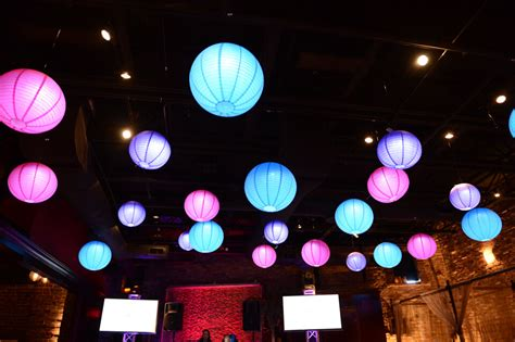 Hanging Paper Lanterns From Ceiling by Ceiling D 233 Cor Balloon Artistry