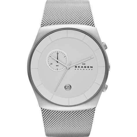 Guess 6071 Silver skw6071 mens skagen watches2u