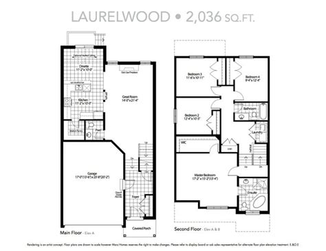 The Laurelwood House Plan Laurelwood House Plans