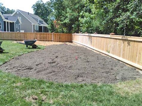 creating a berm as an interesting feature of your landscaping project