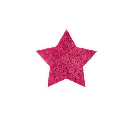 tappeti rosa tappeto bagno fucsia stella