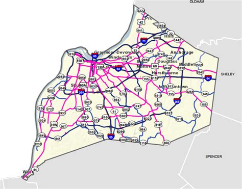 kentucky dot map district 7 enews special snow edition february 16 2015