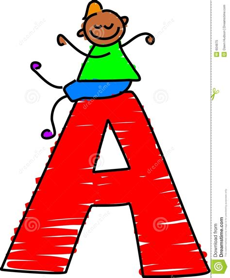 Letter For Boy Letter A Boy Royalty Free Stock Photo Image 604875