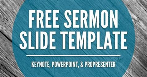 Free Sermon Slide Templates Keynote Powerpoint Free Sermon Powerpoint Templates