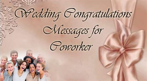 Wedding Congratulations Colleague wedding congratulations messages for coworker
