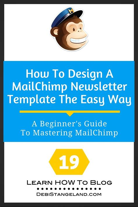 Mailchimp How To Use Templates 19 How To Design A Mailchimp Newsletter Template The Easy Way Newsletter Templates The O