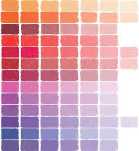 pastel color chart soft pastels color chart at great american works