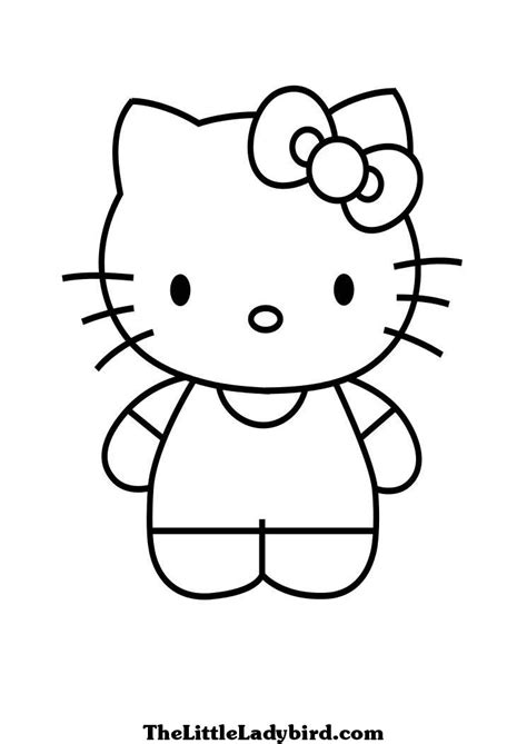hello kitty i love you coloring pages free hello kitty coloring page thelittleladybird com
