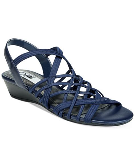 impo sandals impo rise stretch wedge sandals sandals shoes macy s