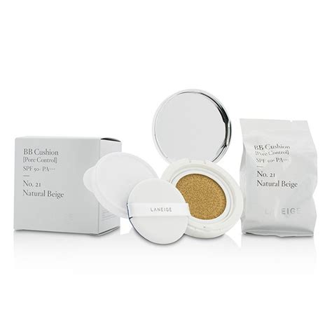 Laneige Bb Cushion Pore 1 Refill Spf 50 Pa laneige bb cushion foundation pore spf 50 with