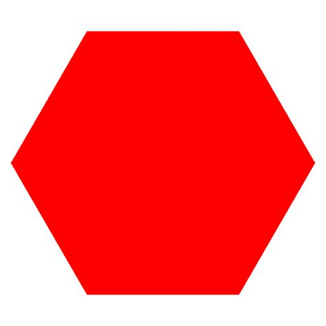 Favourite Color hexagon cliparts co