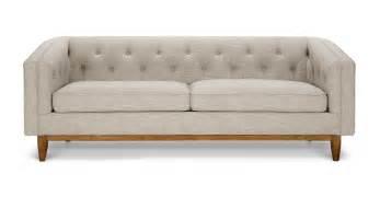 Sofa Sofa Furniture Alcott Rain Cloud Gray Sofa Sofas Article Modern