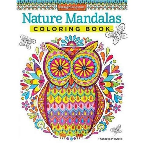 coloring book for adults target nature mandalas coloring book target