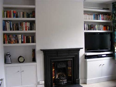 Alcove Shelf by Built In Cabinet And Shelves In Alcove Carpentry Joinery In Woking Surrey Mybuilder