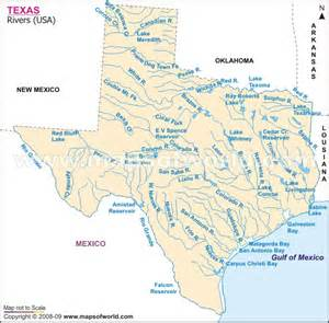 river map of