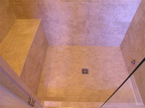 building a shower bench custom tile shower doublebhomestead tile shower with