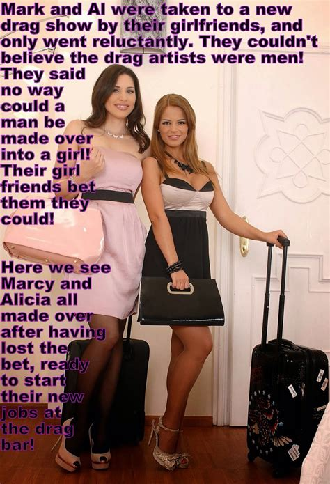 brazilian show men femninised marcy alicia sissy stuff pinterest captions tg