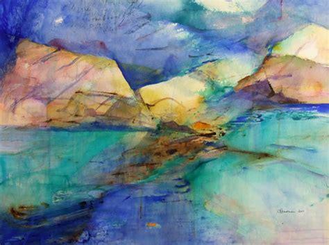 abstract wallpaper nz carol readman nz watercolour artist nz abstract landscape