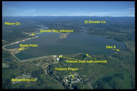folsom ca map folsom lake rb bass fishing