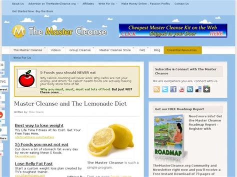 Master Cleanse Detox Diet Plan by 177 Best Images About The Master Cleance On