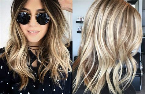 hairstyles blonde with dark highlights inspiring ideas for long hair with highlights hairdrome com
