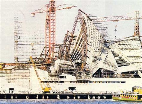 who designed the sydney opera house sydney opera house construction images