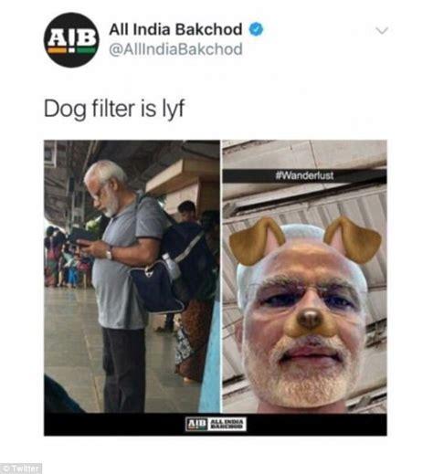 indian police file case  insulting modi meme daily