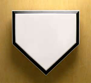 home plate baseball baseball large sports decorations for ballparks and