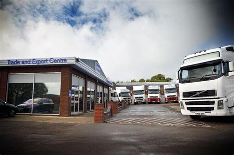 volvo truck shop volvo used truck opens trade and export centre in coventry