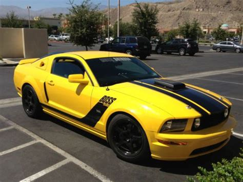 accident recorder 2006 ford mustang user handbook purchase used 2006 boss shinoda mustang screaming yellow 2006 in thousand palms california