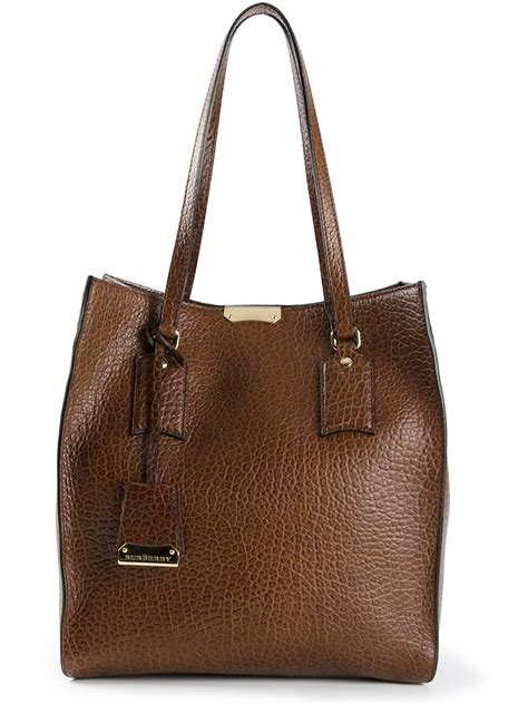 Burberry Tote by Lyst Burberry Woodbury Tote In Brown